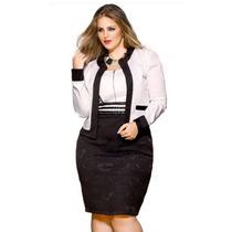 Vestido +blazer Moda Evangelica Elegante Cod#lldac+
