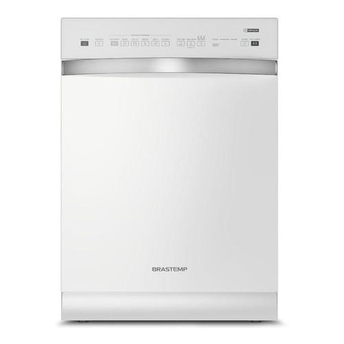 Lava-louças Brastemp BLF14 de 14 talheres branca 110V