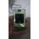 Motorola V3i Verde (novo) Teclado Não Respone