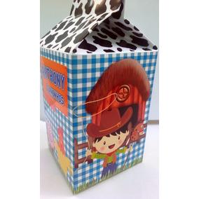 Caixa Milk Leite Personalizada Fazendinha