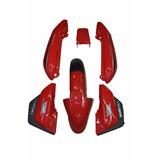 Kit Carenagem Suzuki Yes125 -vermelho 2008/ C/adesivada