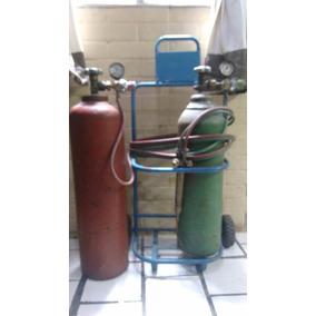 Tanque De Acetileno Y Oxigeno