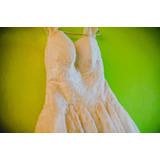 Remato Hermoso Vestido De Novia. Con Velo A S/450