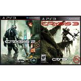 Crysis 2 + Crysis 3 Ps3 Combo 2x1 Lgames