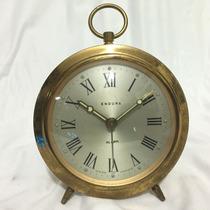 Hermoso Raro Reloj Despertador Endura Francés 100% Original
