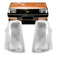 Par Pisca Chevy Chevette Marajo 83 84 A 93 Dianteira Cristal