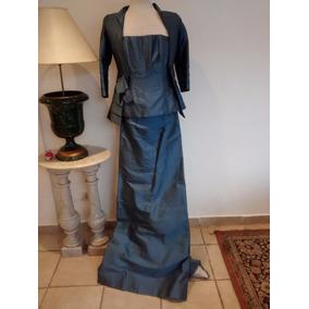 Le Tissu Vestido Doble Pieza.. Fiesta (desfile Alta Costura)