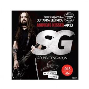 Enc Guitarra Sg 013 Andreas Kisser Ak13