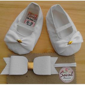 Zapatos Para Bautizo (cintillo Incluido)