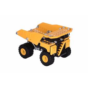 Juguete Niños Camion Dompe Caterpillar Construyalo