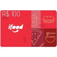 Ifood Card 100 Reais Gift Card