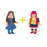 Boneca Mili + Laura Chiquititas Novela Sbt Cotiplás Brinq