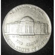 Moeda Five Cents Ano 1971 Estados Unido