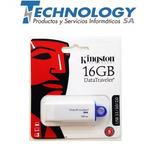 Pendrive Kingston 16gb Dt G4 Usb 3.1/3.0/2.0