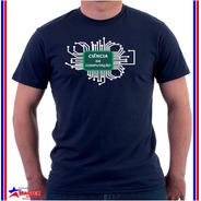Camisa Camiseta De Curso Universitário Ciência Da Computação