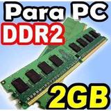 Memoria Ram Ddr2 2gb A 800/667mhz Pc Remate Varias Marcas