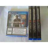 Uncharted 4 Ps4 Juego Nuevo Sellado