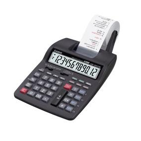 Calculadora Mesa Casio Bobina Impressão 12dig Hr100 Hr-100tm