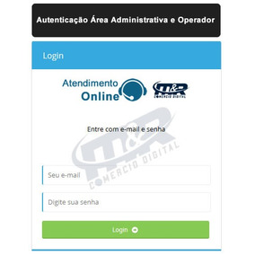 Script Atendimento Online - Script Responsivo, Chat Online.