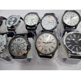 Kit C/ 10 Relógios Masc.pulseira De Silicone + 5 Femininos