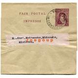 Faja Postal Eldorado Matasello Posadas Misiones 1919