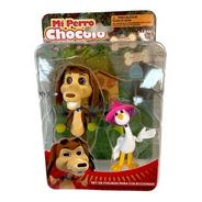 Mi Perro Chocolo Set 2 Figuras Chocolo Y Josefina