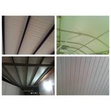Machimbrado De Pvc/ Cielo Raso/techos Estacionamientos