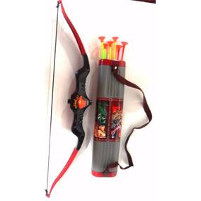 Arco E Flecha Brinquedo , E Porta Flechas Kit Completo
