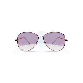 Lente De Sol Aviador Rosa Gold, Glasses G3, 4011