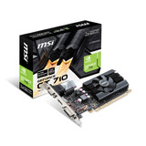 Msi Geforce Gt710 1gb Ddr5 Gt 710 Low Profile Hdmi Cooler