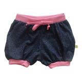 Shorts Bebê Menina Algodão Tamanhos 1, 2, 3 Lançamento