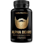 Barba Perfecta Con Alpha Beard Suplemento 60 Caps