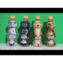 Garrafinha Star Wars Darth Vader Stormtrooper C3po Chewbacca