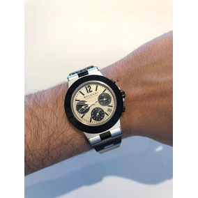 1d681abbe86 Rel Gio Bvlgari Fabrique Suisse Sd 38 S L2161 - Relógios De Pulso no ...