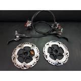 Freio Hidraulico Xtr M9000 + Rotores Rt99 Xtr