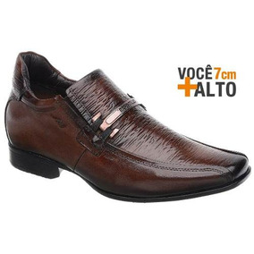 Sapato Rafarillo Linha Alth Você + Alto 7cm 3227 Mogno