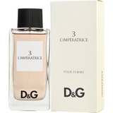 Perfume Dolce & Gabbana 3 L´impératrice Dama Original Nuevo