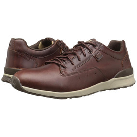 Caterpillar - Zapatos Cuero Hombre Signify P721184 Chocolate