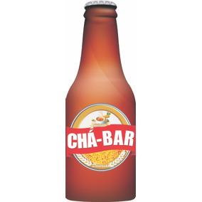 Convite Chá Bar Garrafa (com 10 Unidades)