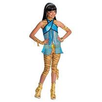 Disfraz Niña Monster High Cleo De Vestuario Del Nilo - Como
