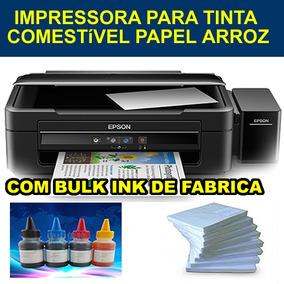 Impressora Multifuncional Com Bulk Ink Para Papel Arroz