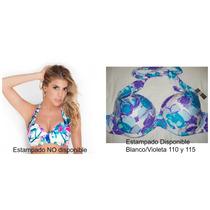 Corpiño Soft Nueva Malla Bikini Yamiel Talle Grande 110y115