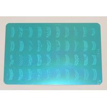 Placa Decalque Para Unha 40 Desenhos + Carimbo Ck14