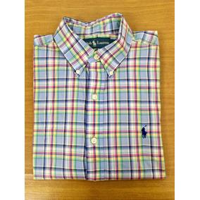 Ralph Lauren - Camisa Xadrez Masculina Original