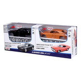 Dúo Pack Maisto Challenger S R T 8 2008 + Charger R/t 1969