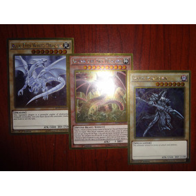 Blue Eyes White Dragon, Dark Magician, Slifer The Sky Dragon