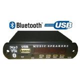 Modulo Bluetooth Fm Sd Con Control Incluye Pila