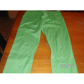 Pantalon Verde .talle S .