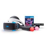 Playstation Vr Bundle Kit Completo,en Stock