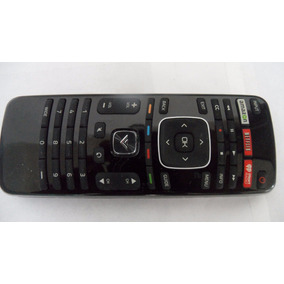 Control Remoto Smart Tv Vizio Boton Netflix Amazon +4 Pilas